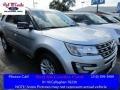 2016 Ingot Silver Metallic Ford Explorer XLT #113900606