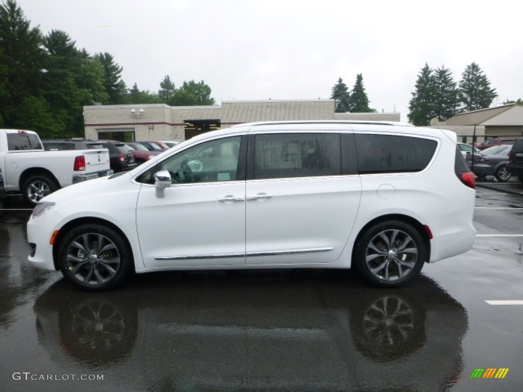 Bright White 2017 Chrysler Pacifica Limited Exterior Photo 113918447