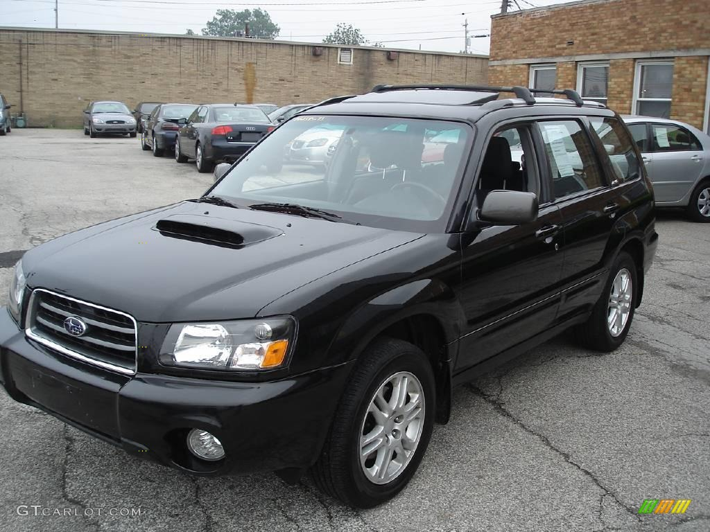 2004 java black pearl subaru forester 2 5 xt 11354351 car color galleries. Black Bedroom Furniture Sets. Home Design Ideas