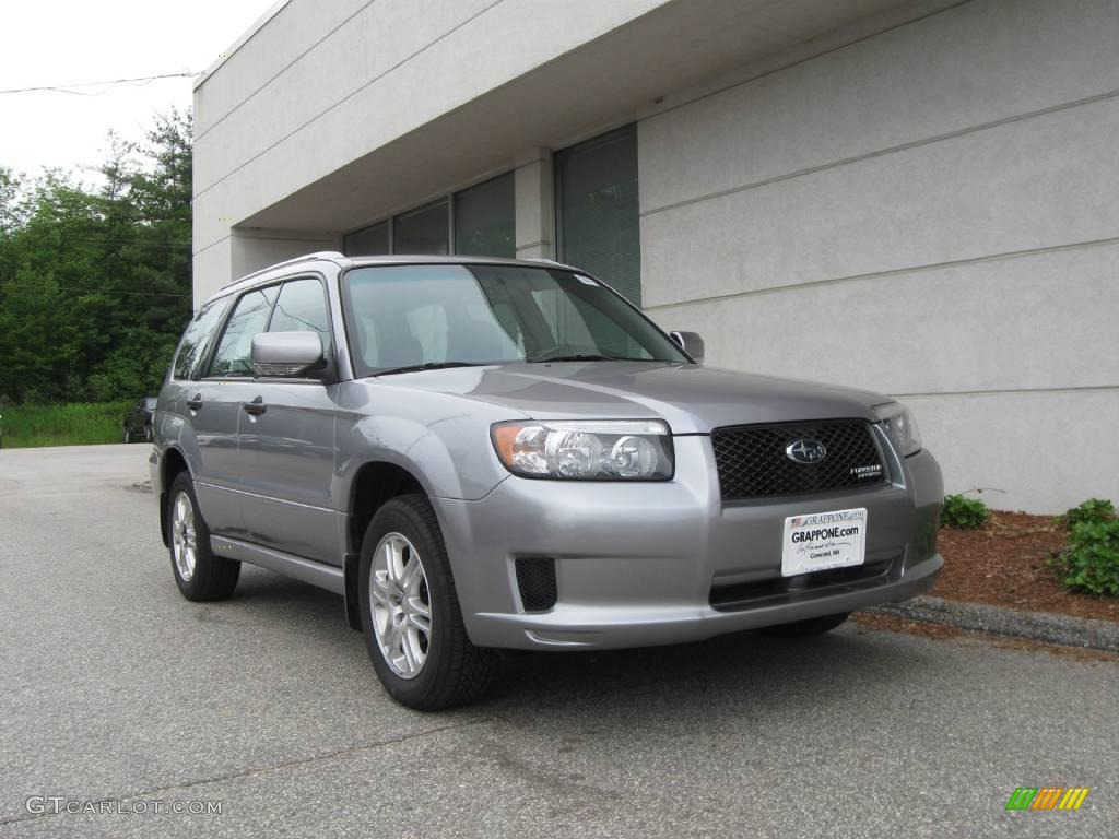 2008 Steel Silver Metallic Subaru Forester 2 5 X Sports 11353381 Car Color