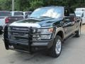 2012 Forest Green Metallic Ford F250 Super Duty Lariat Crew Cab 4x4 #113900914