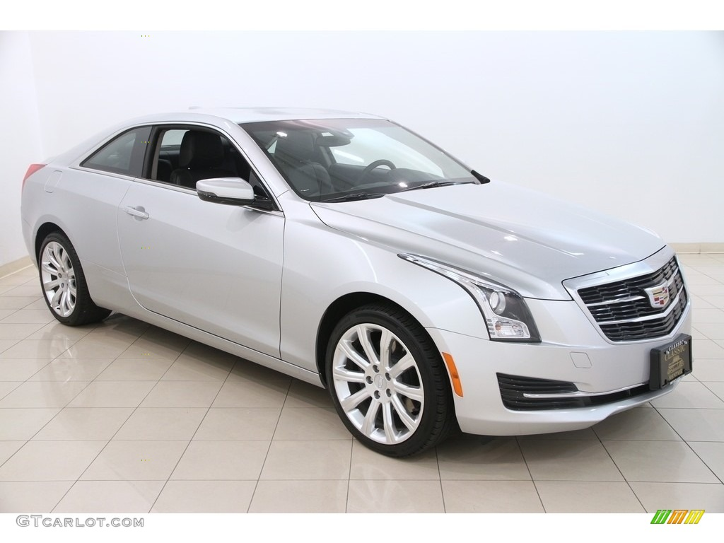 2016 radiant silver metallic cadillac ats 2 0t awd coupe 113940665 car color. Black Bedroom Furniture Sets. Home Design Ideas
