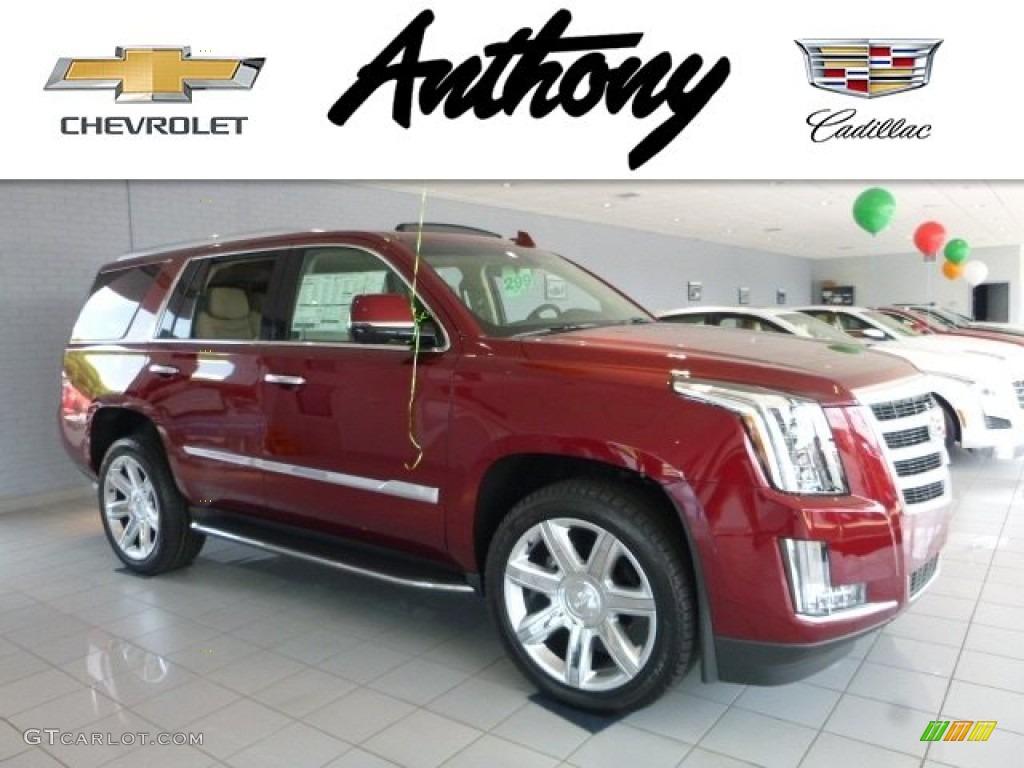 Red Pion Tintcoat Cadillac Escalade