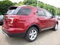 Ruby Red 2017 Ford Explorer XLT 4WD Exterior