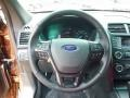 Ebony Black Steering Wheel Photo for 2017 Ford Explorer #113962630