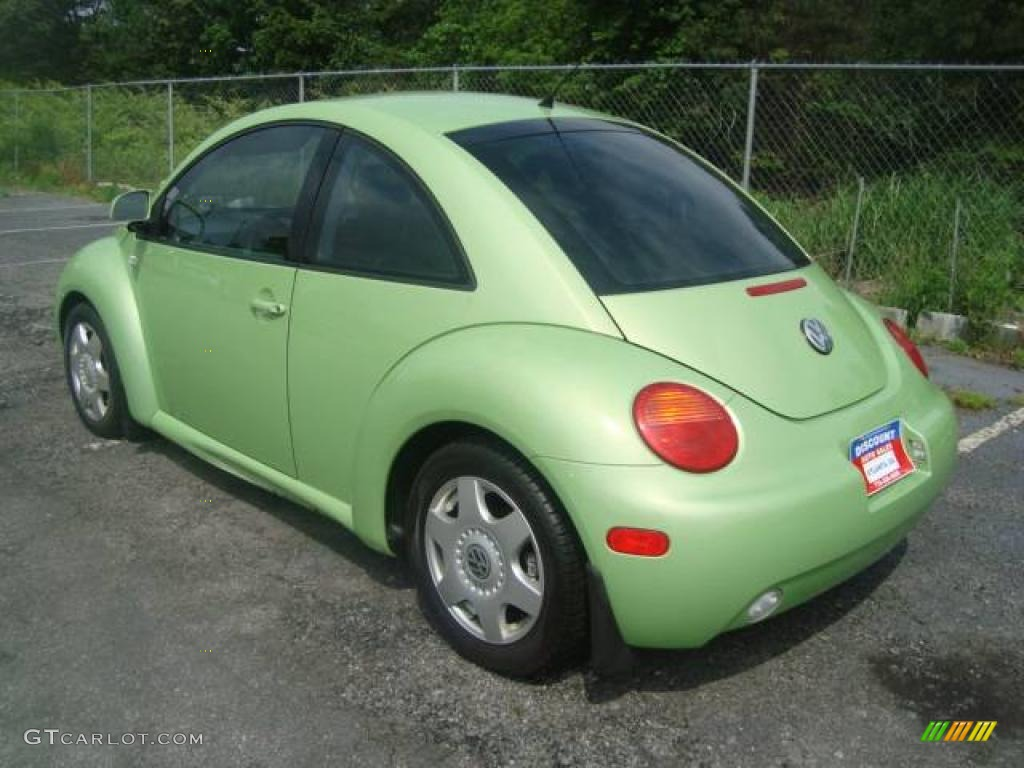 2000 green volkswagen new beetle gls 1 8t coupe 11355681 photo 4 car color. Black Bedroom Furniture Sets. Home Design Ideas