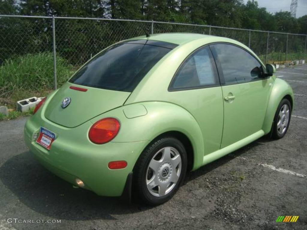 2000 green volkswagen new beetle gls 1 8t coupe 11355681. Black Bedroom Furniture Sets. Home Design Ideas