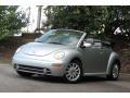 Reflex Silver Metallic 2004 Volkswagen New Beetle GLS Convertible