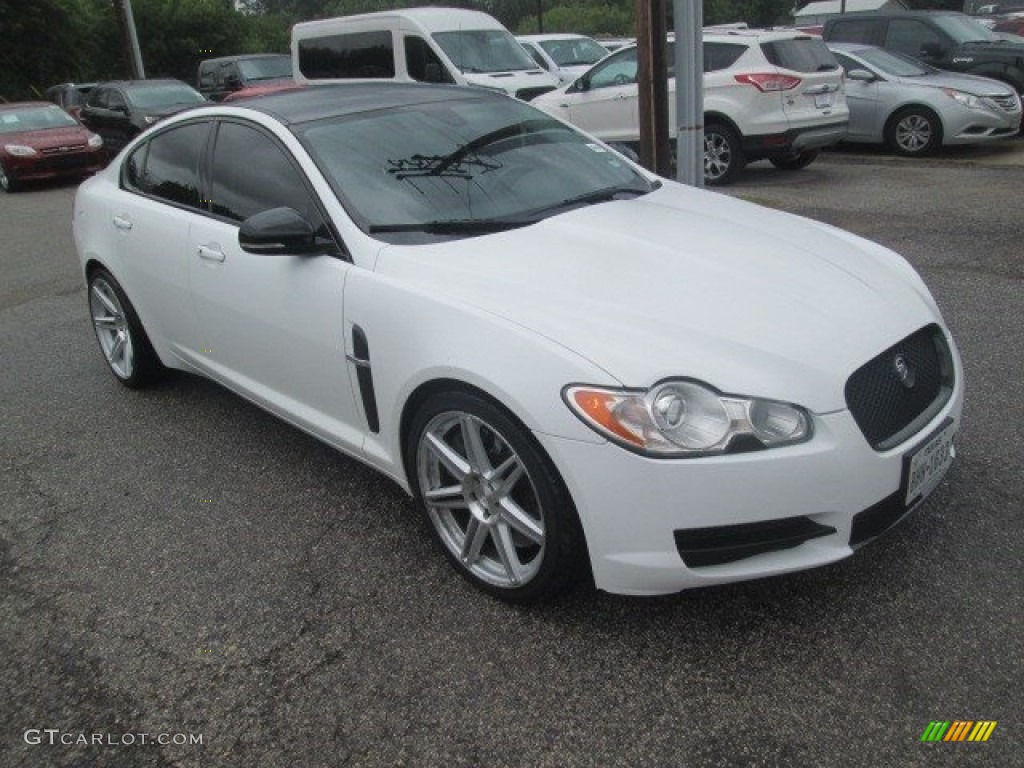 2010 porcelain white jaguar xf xf supercharged sedan 113993197 photo 10 car. Black Bedroom Furniture Sets. Home Design Ideas