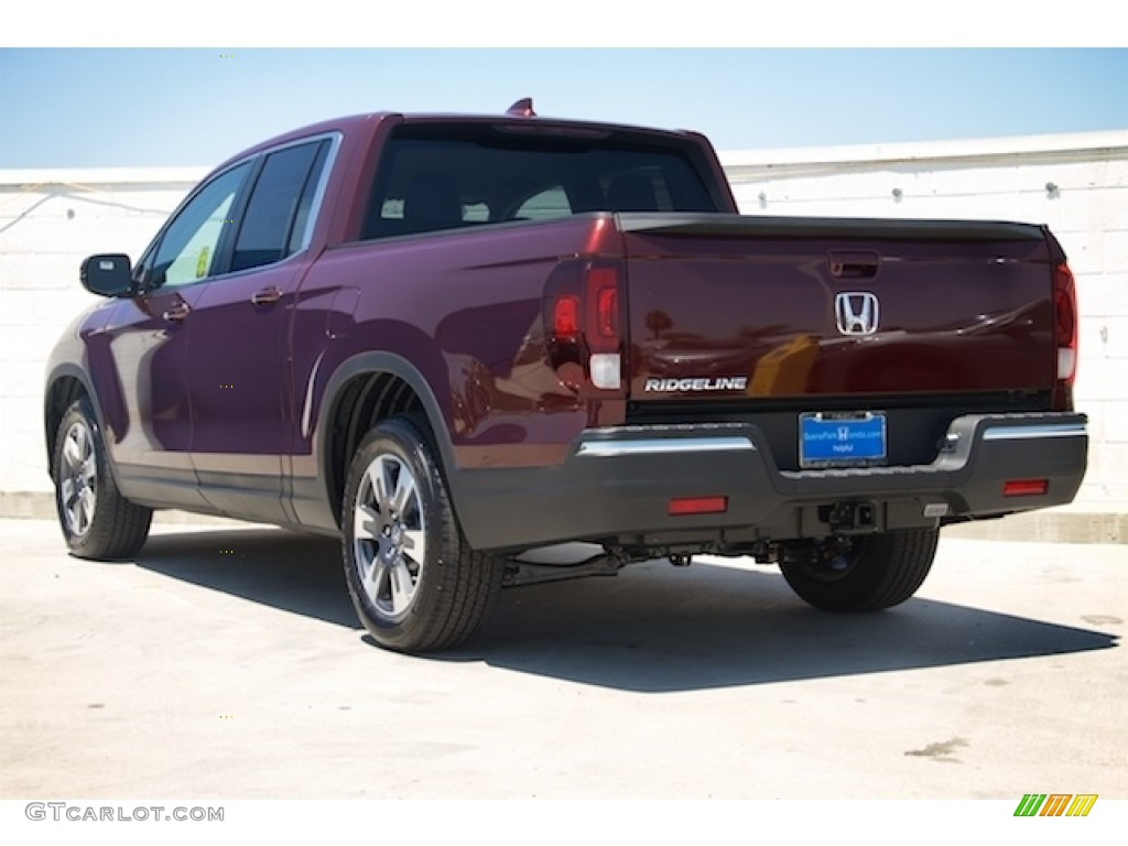 2017 Deep Scarlet Pearl Honda Ridgeline Rtl T 113993235 Photo 2 Car Color