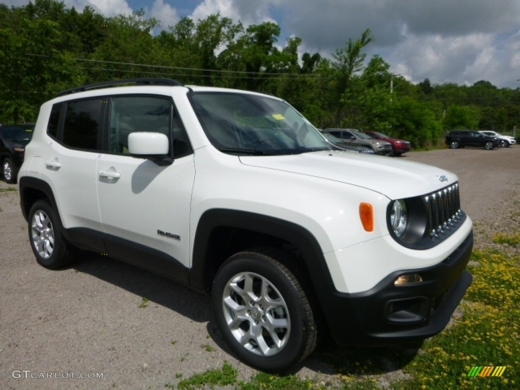 2016 Renegade Latitude 4x4 - Alpine White / Black/Sandstorm photo #11