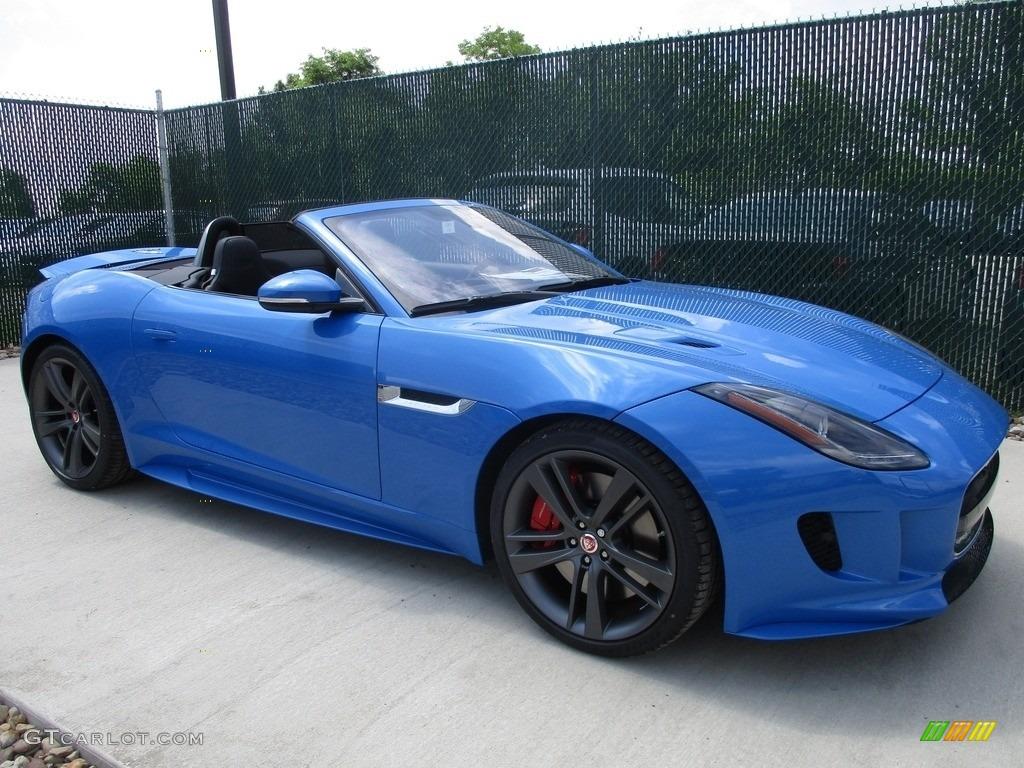 2017 ultra blue jaguar f type s british design edition convertible 113999562. Black Bedroom Furniture Sets. Home Design Ideas
