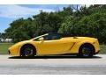 2013 Gallardo LP 550-2 Spyder Giallo Midas Pearl Effect