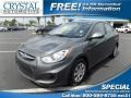Cyclone Gray 2013 Hyundai Accent GLS 4 Door