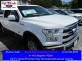 Oxford White 2016 Ford F150 King Ranch SuperCrew