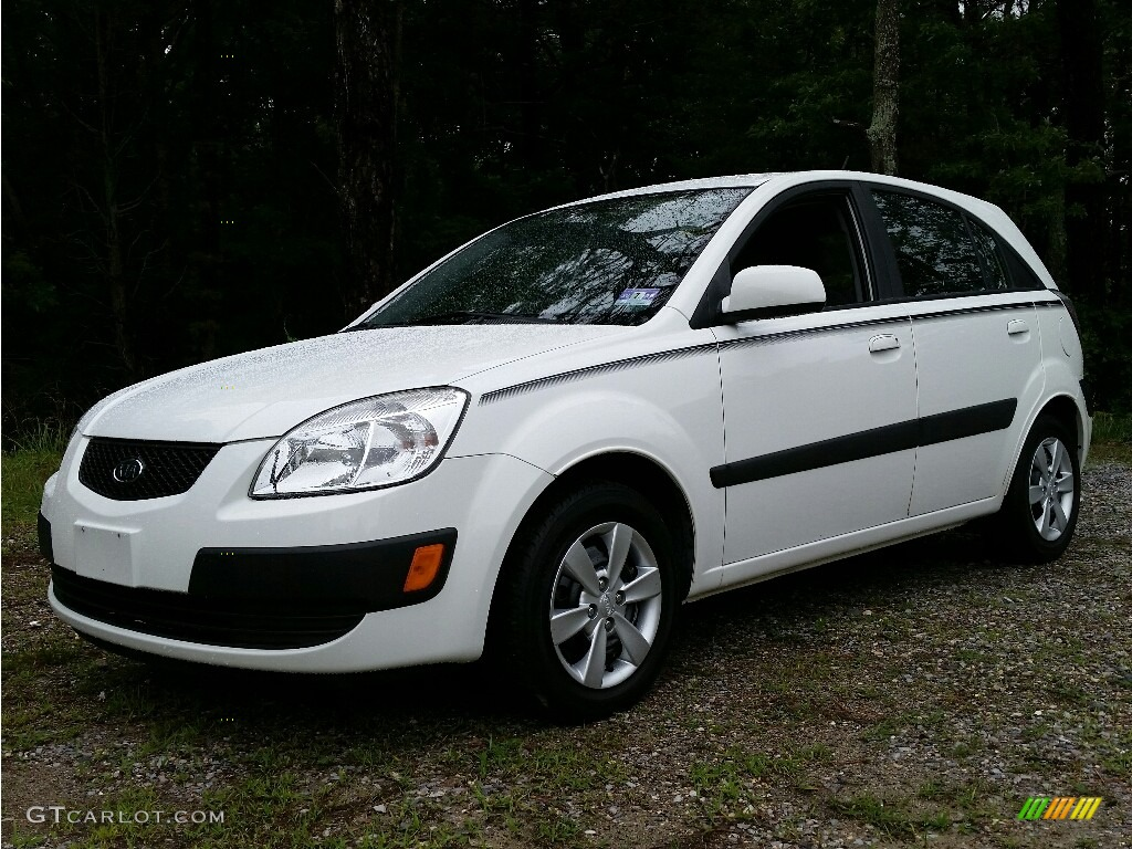 2009 kia rio rio5 lx hatchback exterior photos. Black Bedroom Furniture Sets. Home Design Ideas