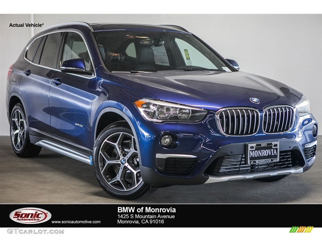 Bmw X1 2017 Mediterranean Blue New Cars Gallery