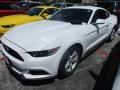 Oxford White 2017 Ford Mustang V6 Coupe Exterior
