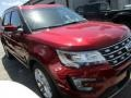 2016 Ruby Red Metallic Tri-Coat Ford Explorer Limited  photo #2