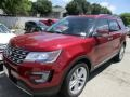 2016 Ruby Red Metallic Tri-Coat Ford Explorer Limited  photo #3