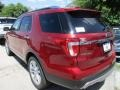 2016 Ruby Red Metallic Tri-Coat Ford Explorer Limited  photo #8