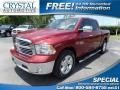 Deep Cherry Red Crystal Pearl 2014 Ram 1500 Big Horn Crew Cab