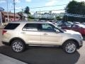 White Gold 2017 Ford Explorer Limited 4WD Exterior