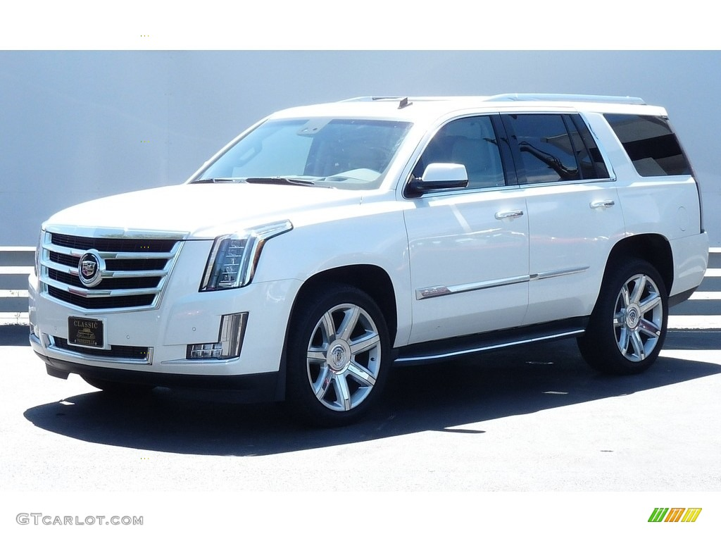 2015 white diamond tricoat cadillac escalade luxury 4wd. Black Bedroom Furniture Sets. Home Design Ideas