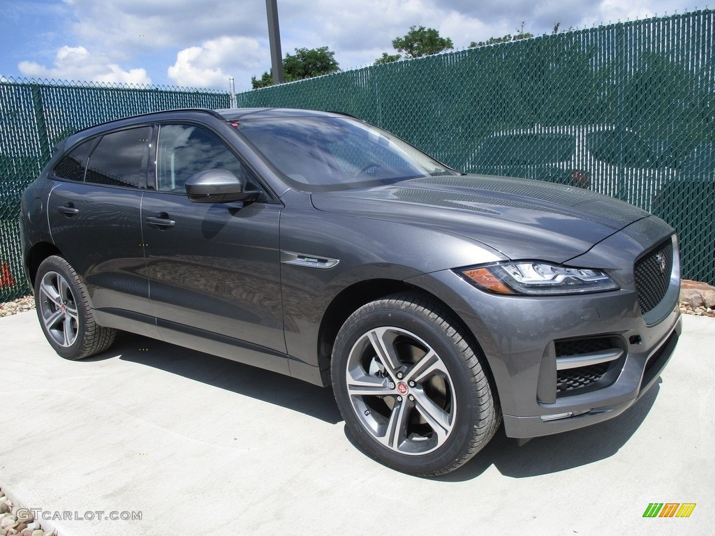 2017 ammonite grey jaguar f pace 35t awd r sport 114079250 car color galleries. Black Bedroom Furniture Sets. Home Design Ideas