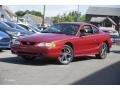 1995 Laser Red Metallic Ford Mustang GT Coupe  photo #1
