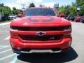 2016 Red Hot Chevrolet Silverado 1500 LT Crew Cab 4x4  photo #10