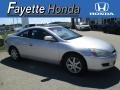 Satin Silver Metallic 2003 Honda Accord EX V6 Coupe