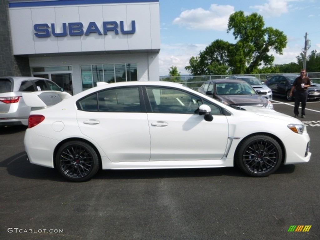 2017 Crystal White Pearl Subaru Wrx Sti 114109848 Photo 7