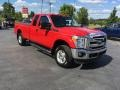 2014 Vermillion Red Ford F250 Super Duty XLT SuperCab 4x4 #114109836