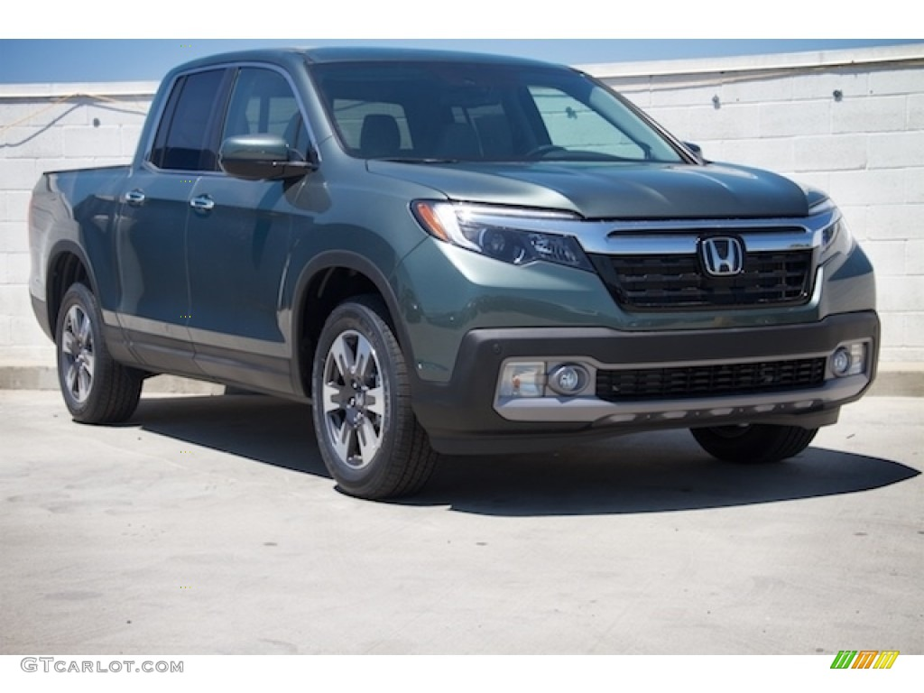 2017 Forest Mist Metallic Honda Ridgeline Rtl E Awd 114109687 Car Color Galleries
