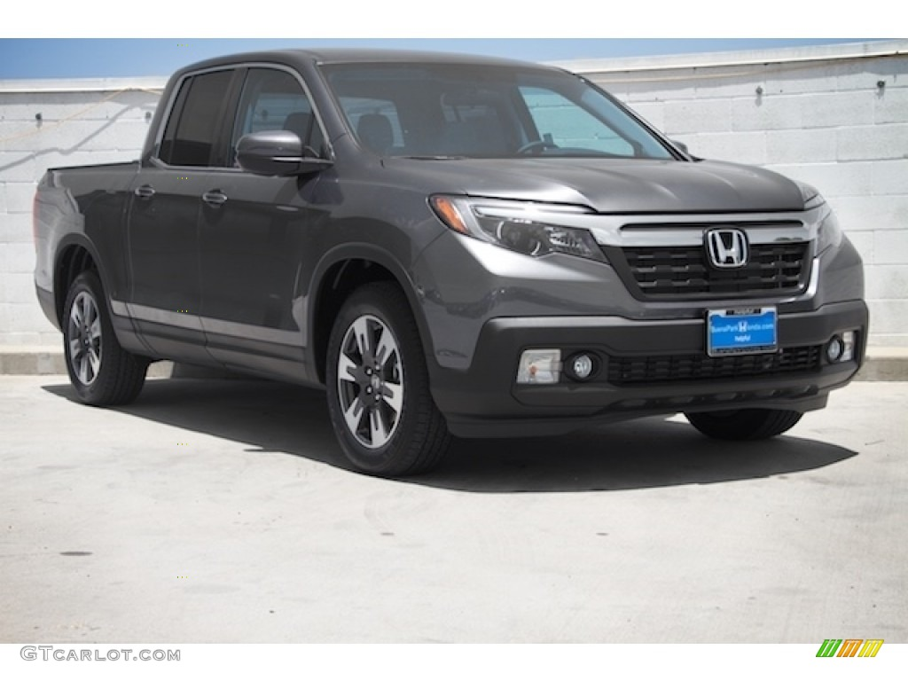 2017 Modern Steel Metallic Honda Ridgeline Rtl 114159211 Car Color Galleries