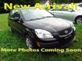 Midnight Black 2009 Kia Rio Rio5 LX Hatchback