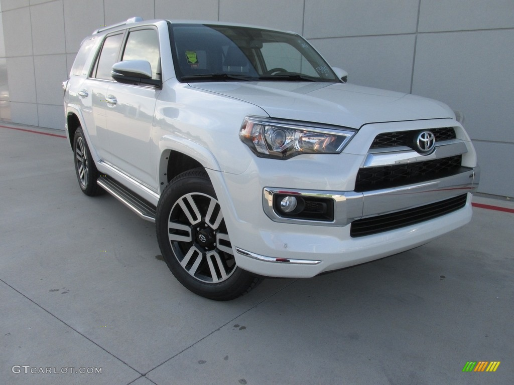 2016 Blizzard White Pearl Toyota 4runner Limited 4x4 114176229 Car Color Galleries