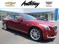 Red Passion Tintcoat 2016 Cadillac CT6 3.6 Luxury AWD