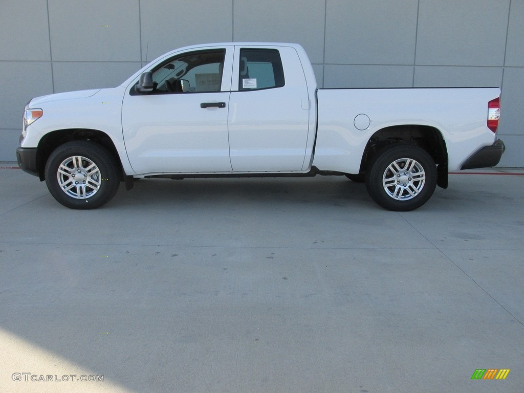2016 Tundra SR Double Cab - Super White / Graphite photo #6