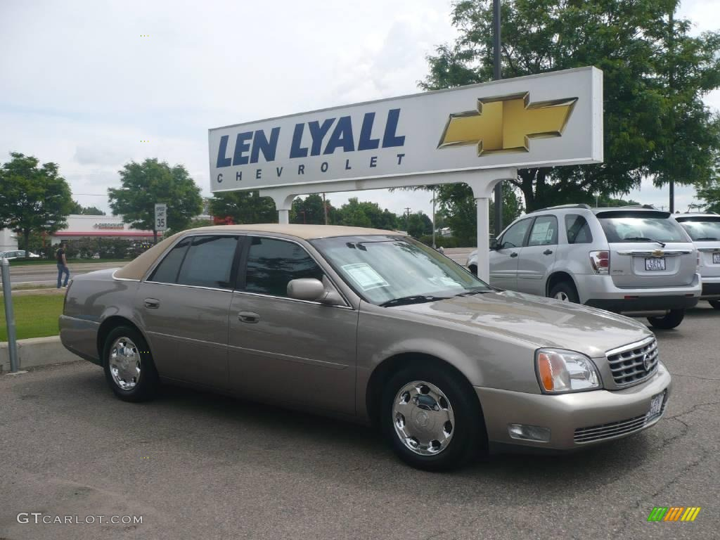 2002 bronzemist metallic cadillac deville dhs 11408431 gtcarlot com car color galleries gtcarlot com