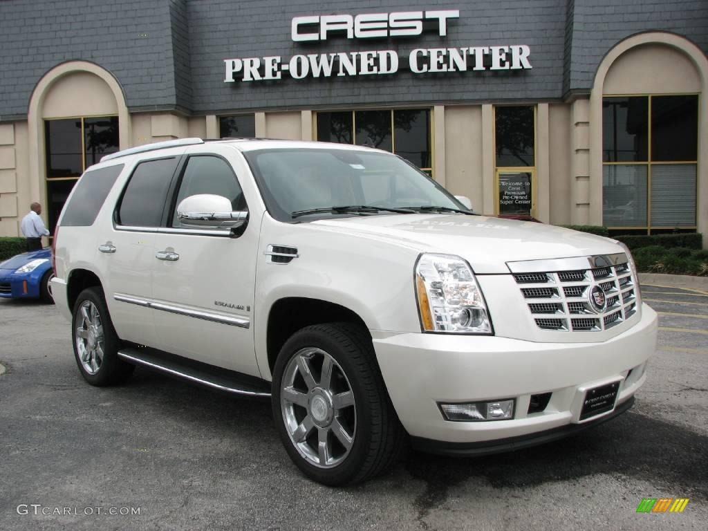 2007 white diamond cadillac escalade 11418295 car color galleries. Black Bedroom Furniture Sets. Home Design Ideas