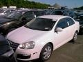 Candy White 2009 Volkswagen Jetta S Sedan