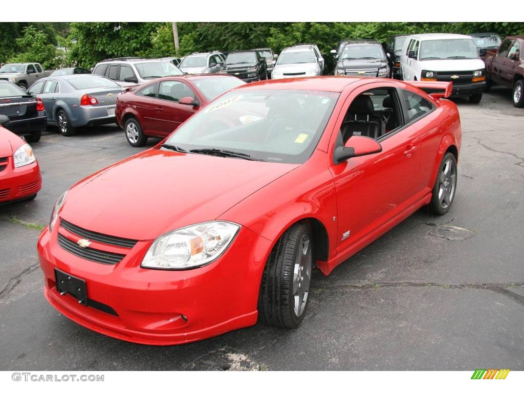 2007 Cobalt SS Supercharged Coupe - Victory Red / Ebony/Red photo #1