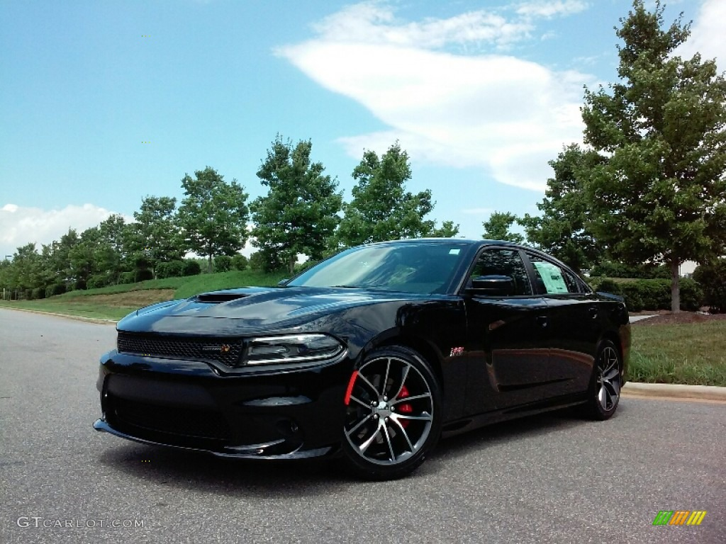 pitch black 2016 dodge charger r t scat pack exterior photo 114274601. Black Bedroom Furniture Sets. Home Design Ideas
