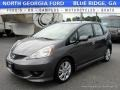Polished Metal Metallic 2011 Honda Fit Sport
