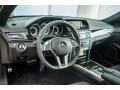 Crystal Grey/Black 2016 Mercedes-Benz E Interiors