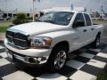 2006 Bright White Dodge Ram 1500 SLT Quad Cab  photo #2