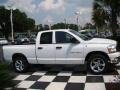 2006 Bright White Dodge Ram 1500 SLT Quad Cab  photo #5