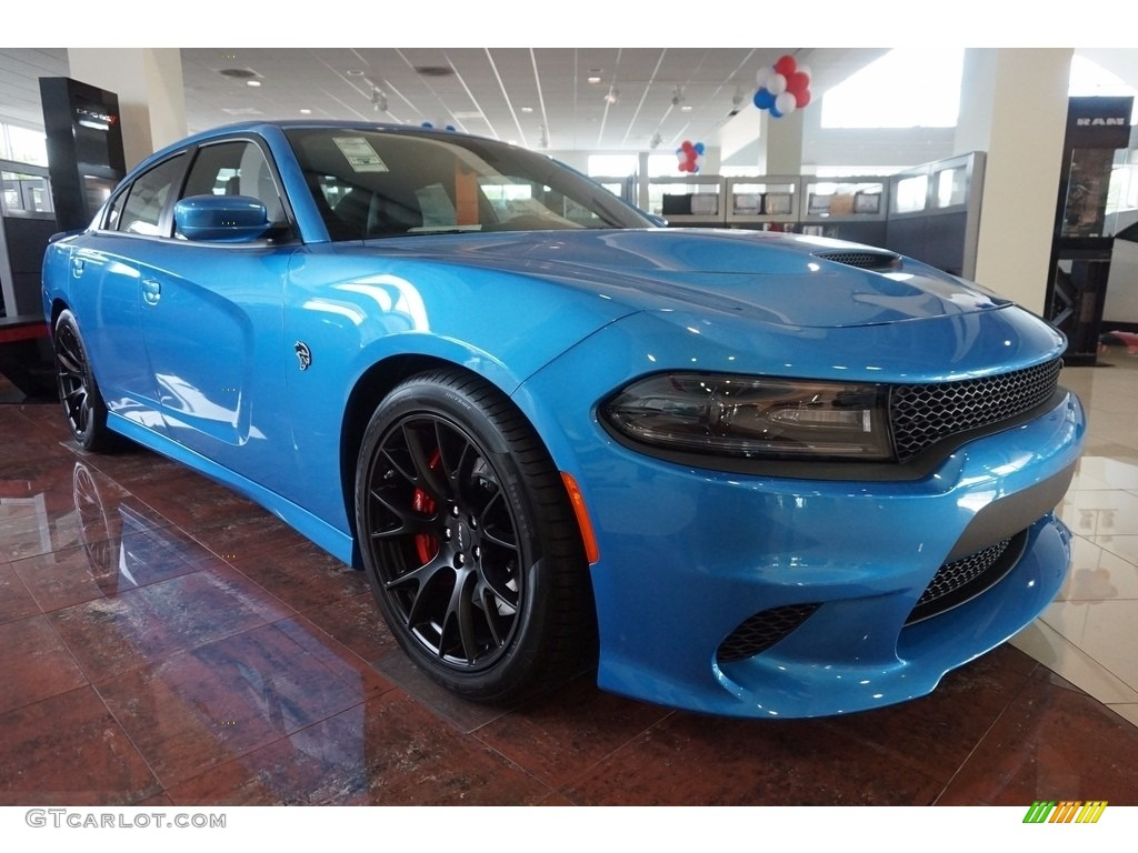 b5 blue pearl 2016 dodge charger srt hellcat exterior photo 114310870 - 2016 Dodge Charger Hellcat Blue